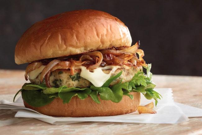 Hormel Blend Burger for foodservice