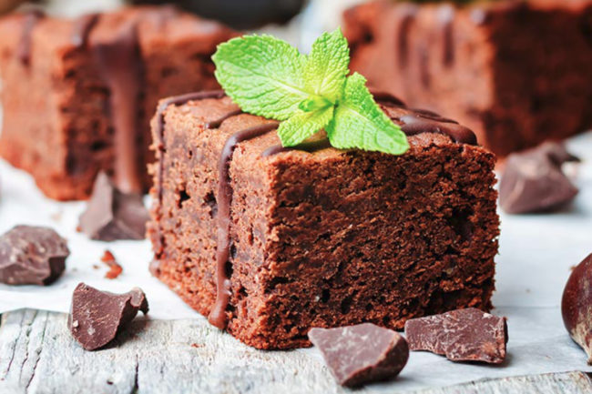 Ingredion allulose brownie