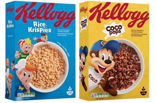 Kellogg UK cereals