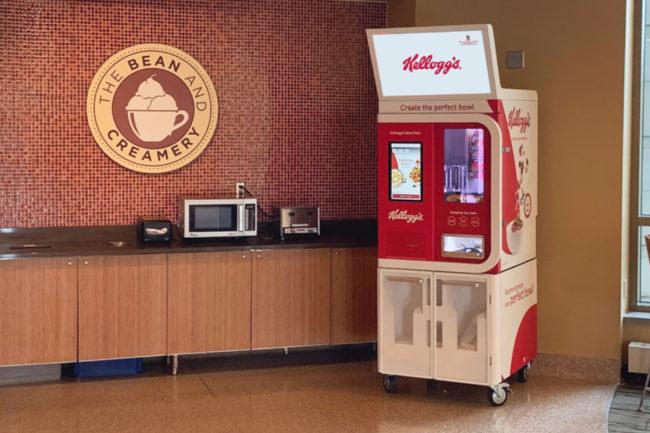 Kellogg cereal robot