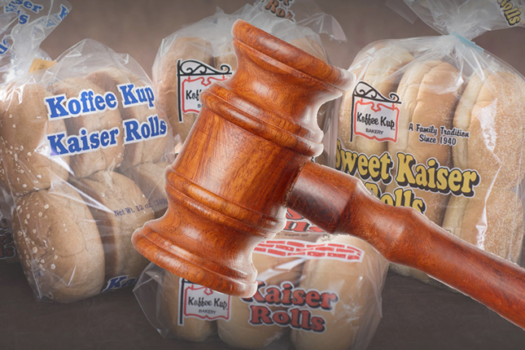 Kaiser rolls from Koffee Kup Bakery