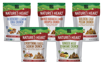 Natures heart crunch lead