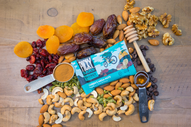 Mega Nuts energy nutrition bar from Picky Bars