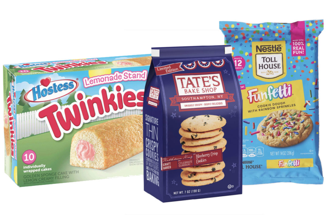 New products from Hostess, Mondelez, Nestle