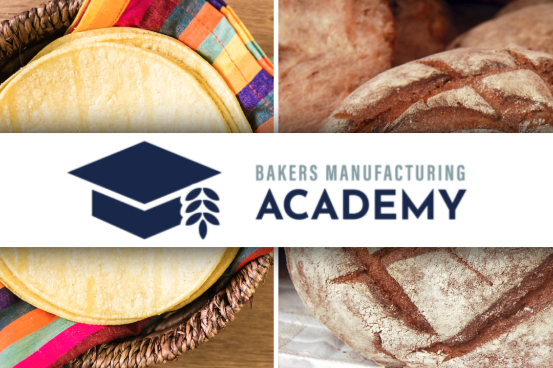 Bakers Manufacturing Academy class for tortillas and hearth bread