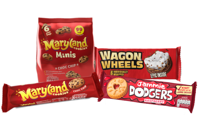 Burton's Biscuit cookies and baked products