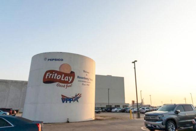 Frito-Lay plant in Rosenberg, Texas