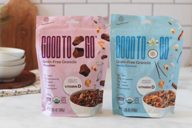 Good to Go Grain-Free Granola
