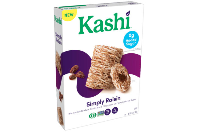Kashi Simply Raisin cereal