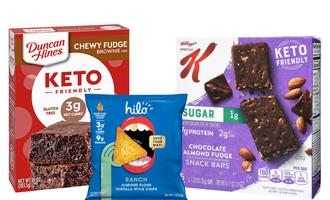 Keto baked foods lead