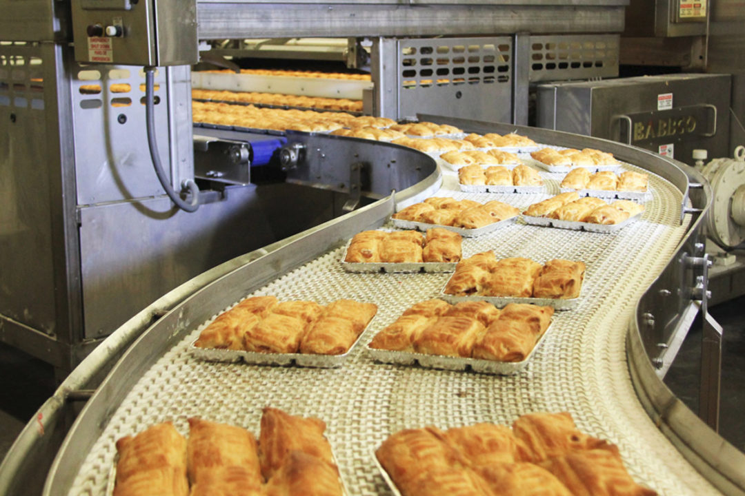 Michel's Bakery product production line