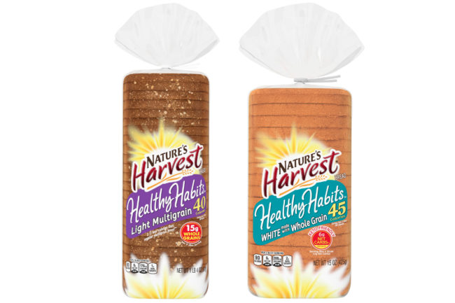Nature's Harvest Healthy Habits bread