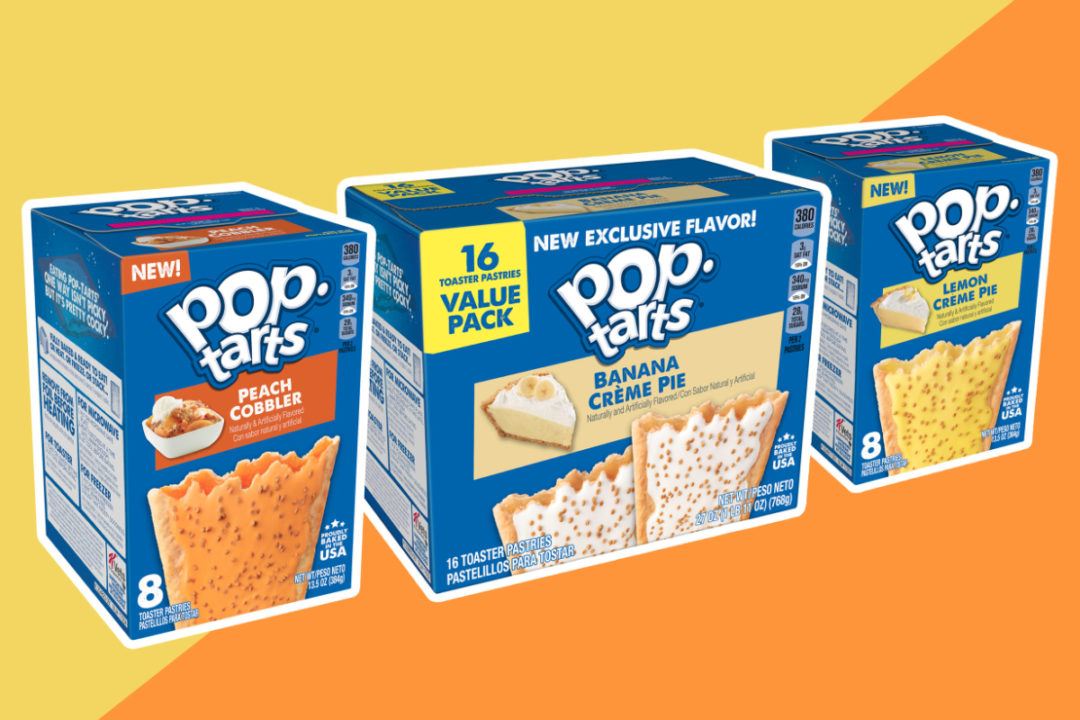 Pop-Tarts pie and cake flavors