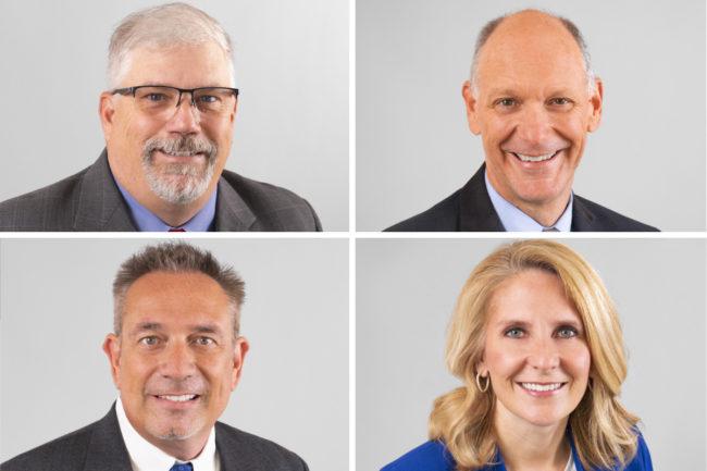 Ed Prosser, Joe Andrus, Ron Bingham, Amy Patterson, Scoular