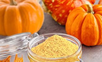 Tree top pumpkin powder lead1