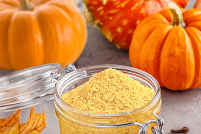 Drum Dried Pumpkin Flake Powder from Tree Top