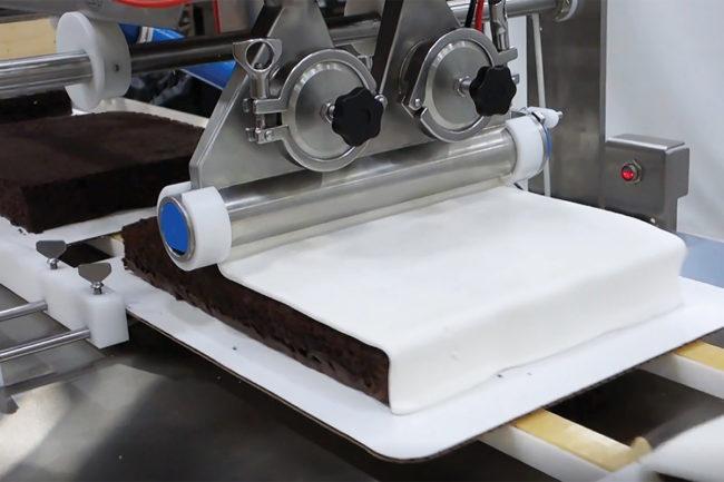 Unifiller, Cake decorating line