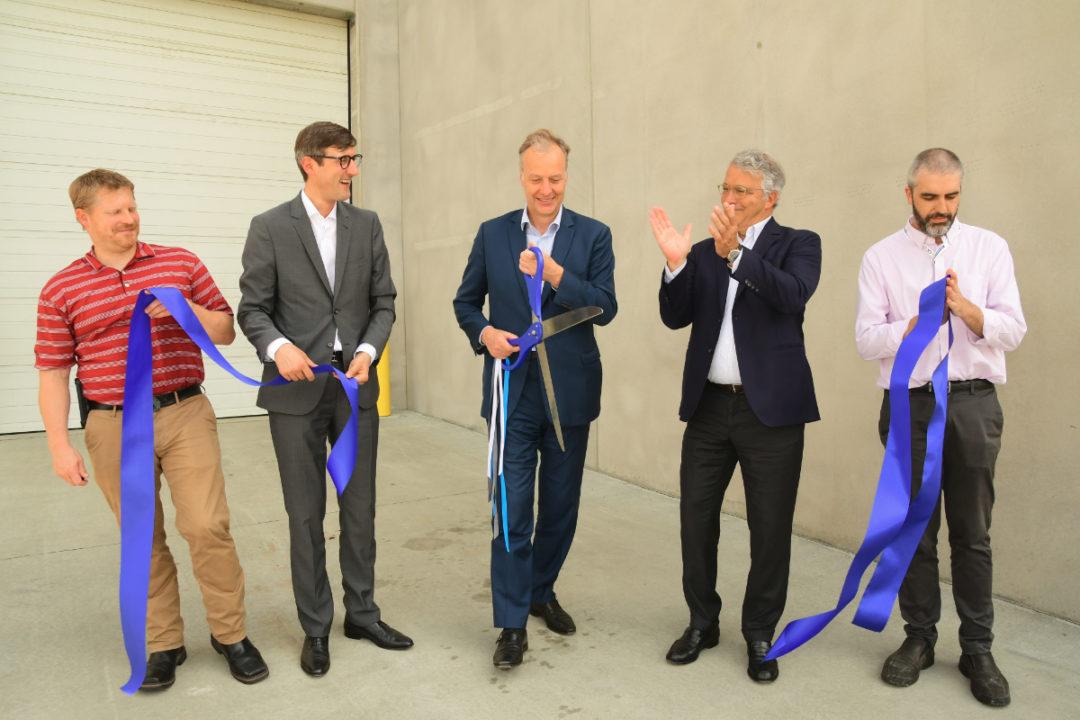 Biospringer by Lesaffre Cedar Rapids facility ribbon cutting