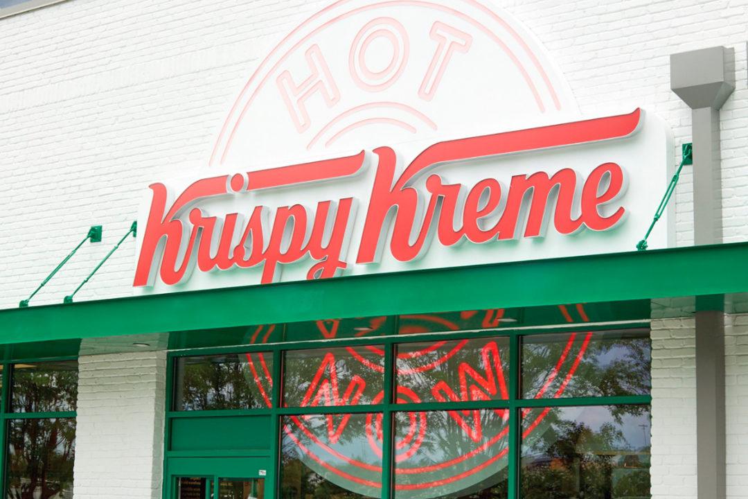 Krispy Kreme Hot Now sign