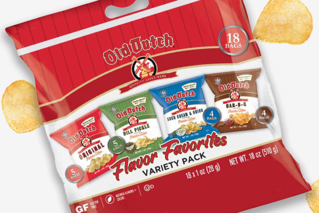 Old Dutch Foods snack bag variety pack