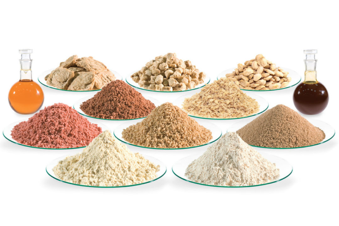 Sojaprotein products