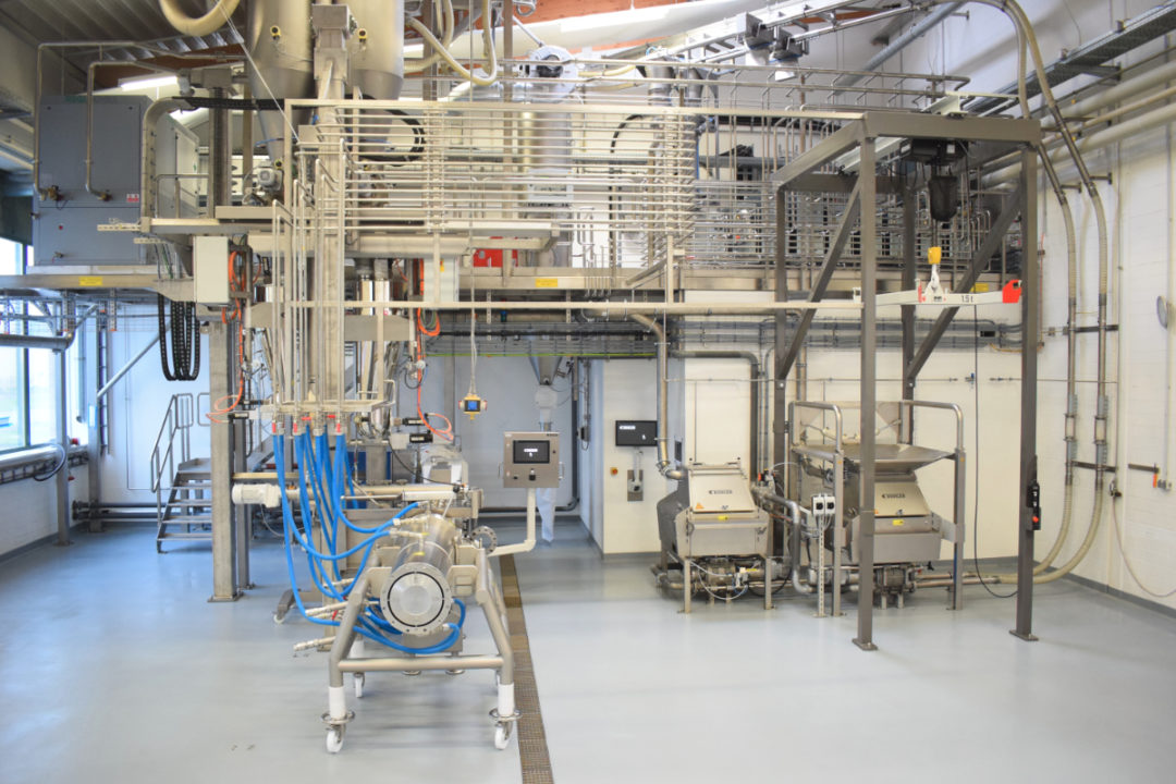 Bühler Technology Center Proteins of the Future interior