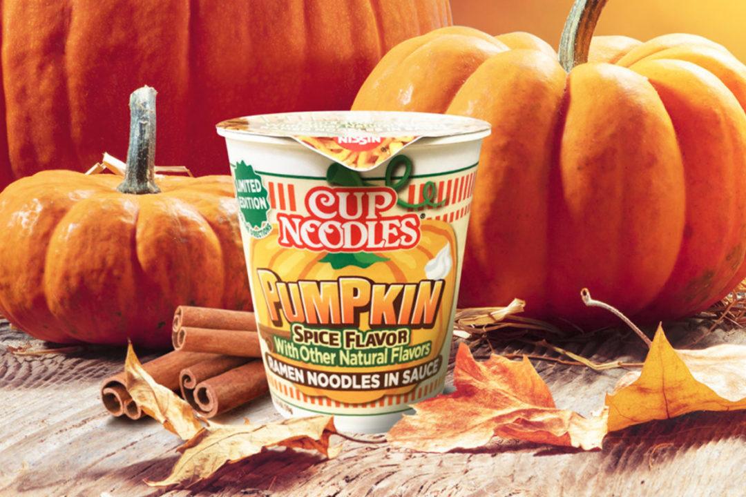 Cup Noodles Pumpkin Spice