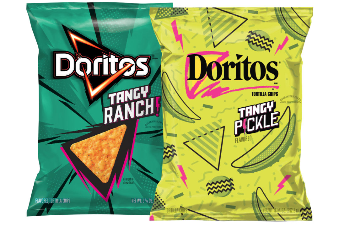 Doritos Tangy Ranch and Tangy Pickle