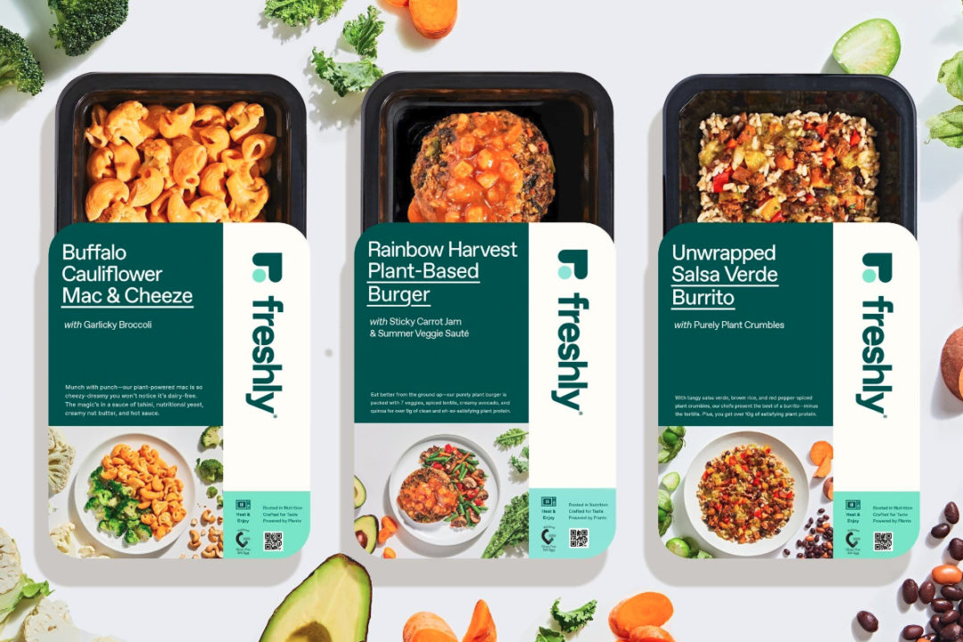 Freshly Purely Plant meals