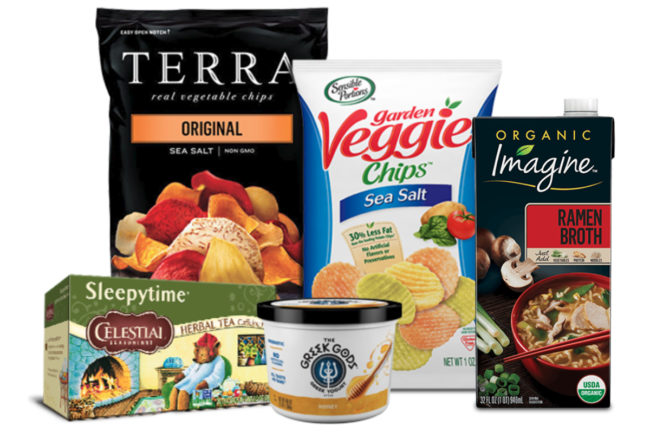 Hain Celestial Group products
