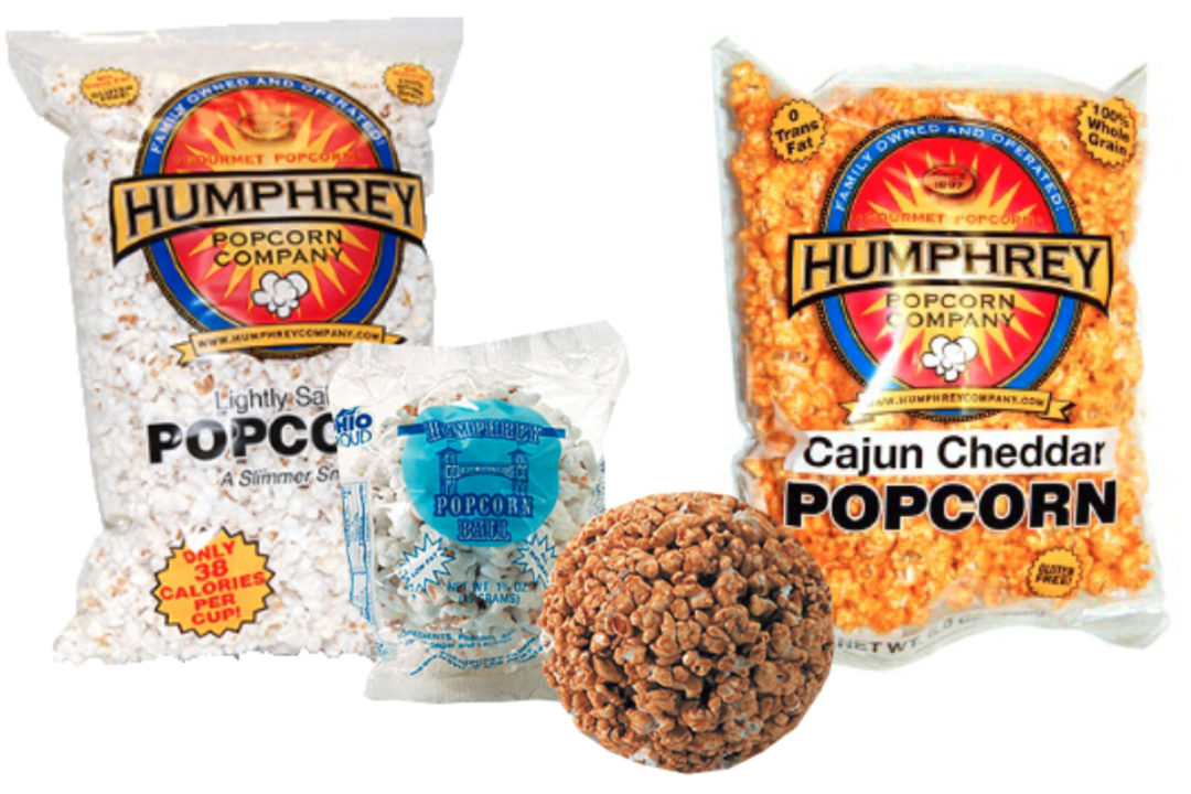 Humphrey Popcorn Co. products