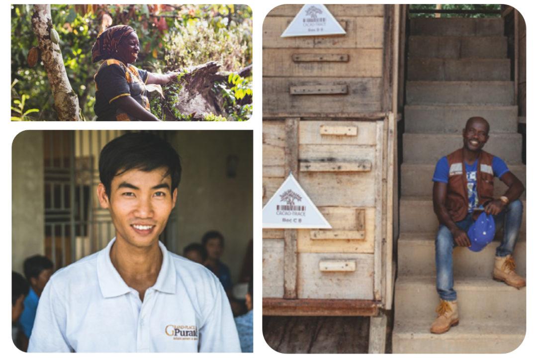 Puratos Cacao-Trace program participants