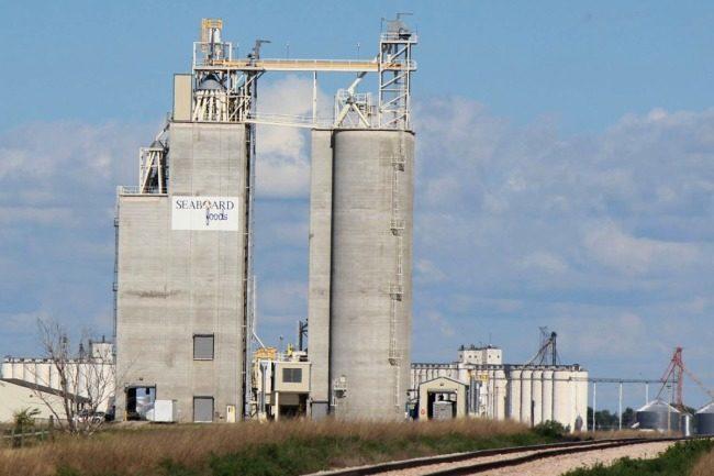 Seaboard Foods silo