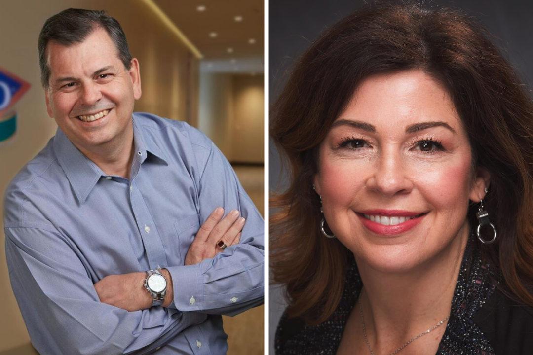 Dean LaVallee and Laura Gerhard, Blue Diamond Growers