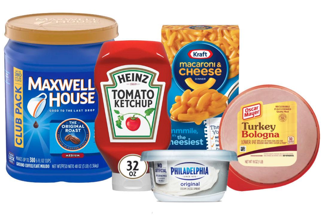 Kraft Heinz products