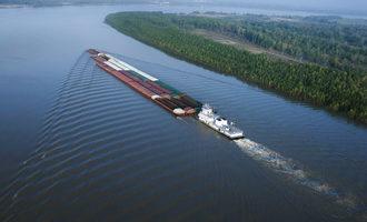 Mississippiriverbargetraffic lead