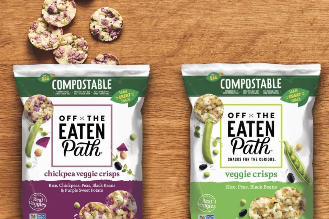 Off the Eaten Path compostable packaging
