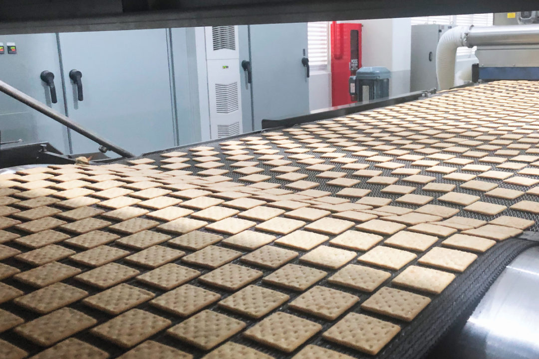 RBS cracker production line