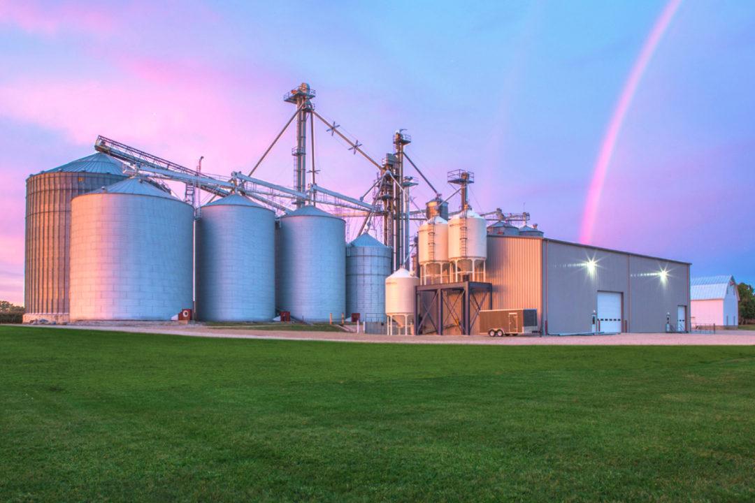 Rogers Grain facility
