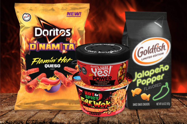 New spicy foods
