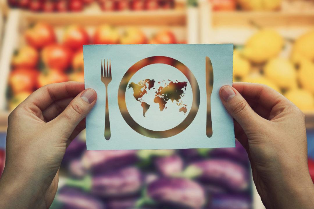 World hunger concept
