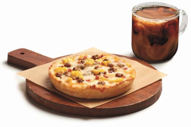 7-Eleven personal breakfast pizza