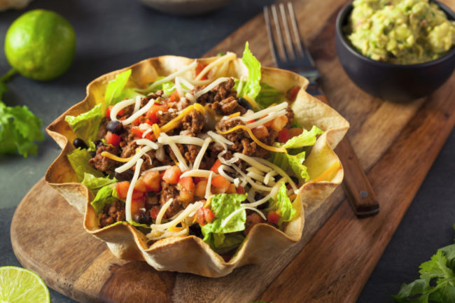 B&G Foods plans to launch a new product that involves microwaving a tortilla to turn it into a bowl.