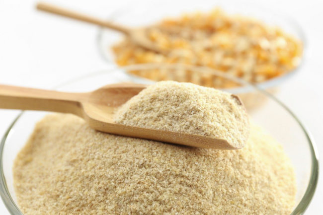 Corn fiber, ethanol