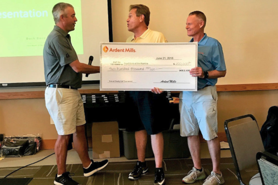 Ardent Mills fundraising gold tournament