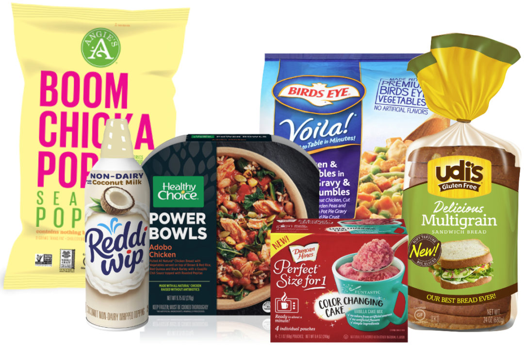 Conagra Brands and Pinnacle Foods products