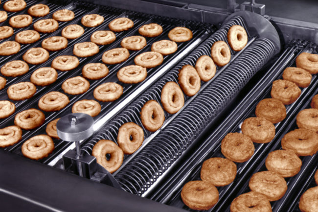 Donuts Frying