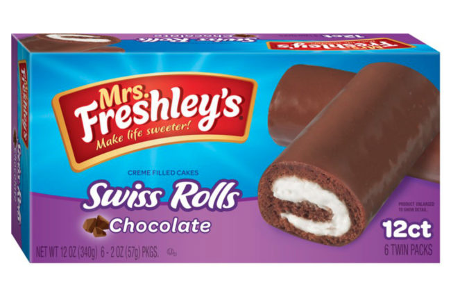 Mrs. Freshley's Swiss Rolls, Flowers Foods
