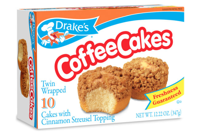 Drake's Coffee Cakes, McKee Foods Corp.