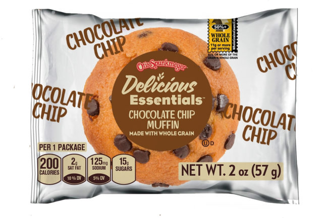Otis Spunkmeyer chocolate chip muffins